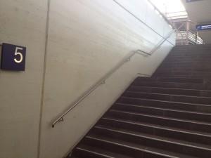 Bahnhof Bonn Zugang Gleis 5