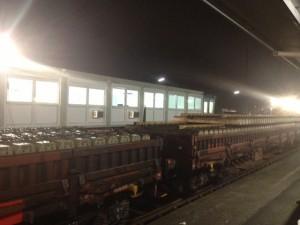Bahn Baustelle Mehlem