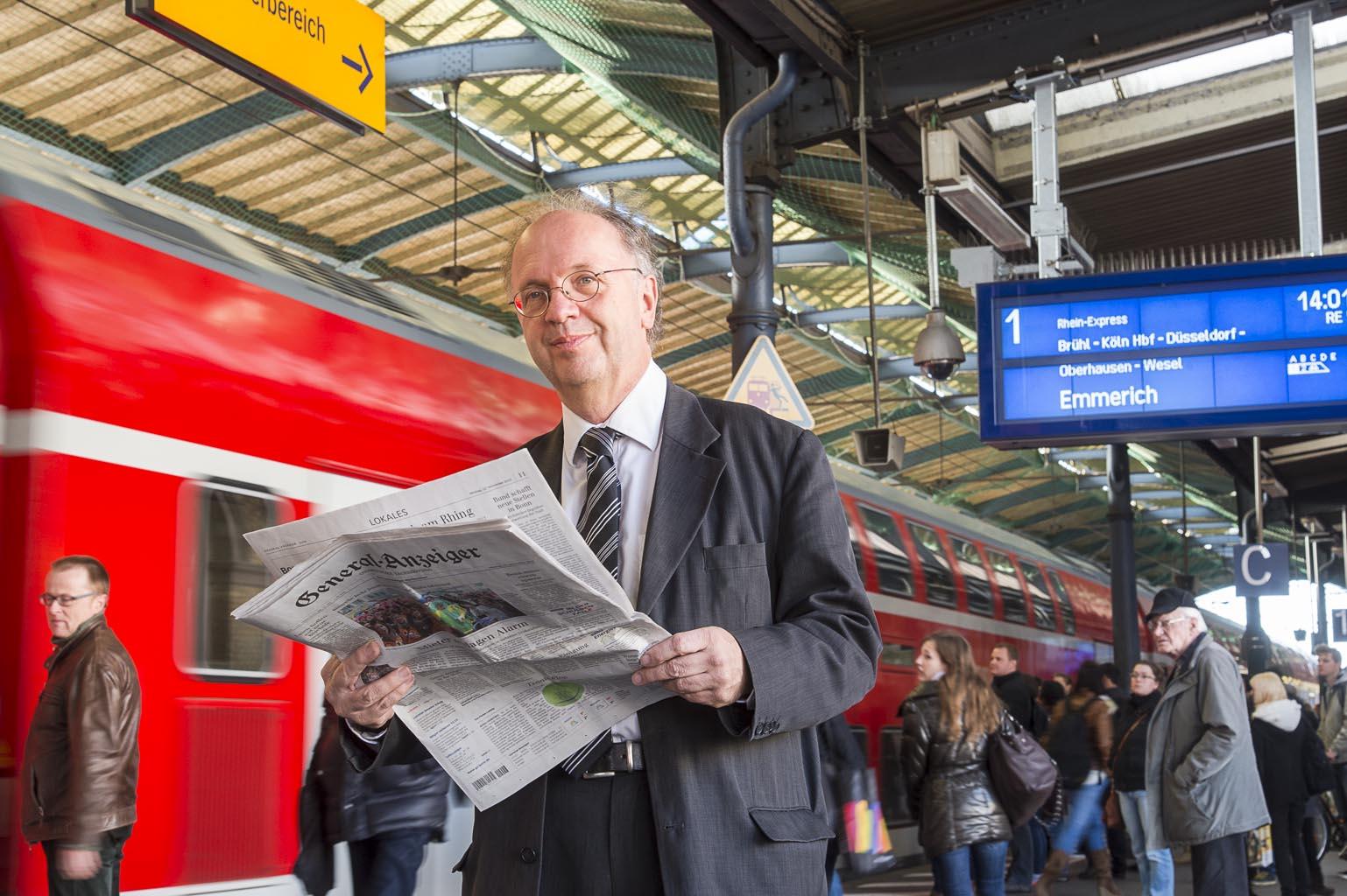 Rolf Bahnhof RE Zug RE5 Bonn