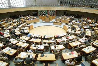 Landtag Plenarsaal Plenum