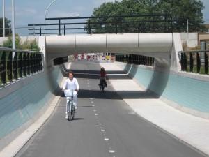 Foto: Radschnellweg in Zwolle (ADFC)