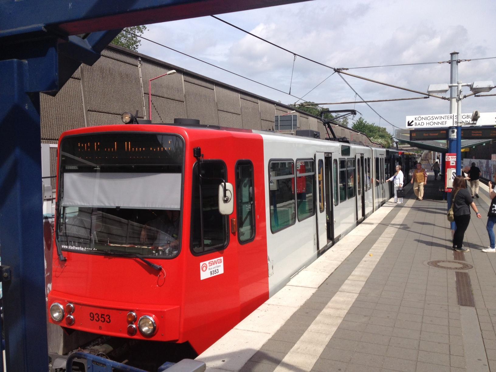 Linie 66 Oberdollendorf Stadtbahn Haltestelle