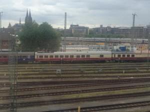 Bahnhof Köln Rheingold-Express Rangierbahnhof