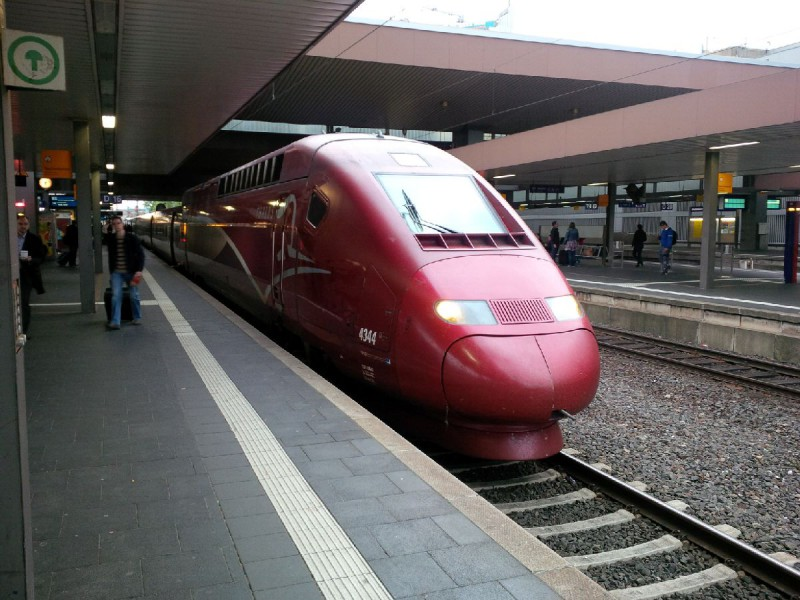 Thalys in Düsseldorf Hbf