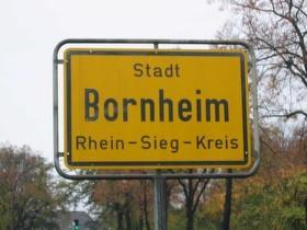 Bornheim Ortsschild