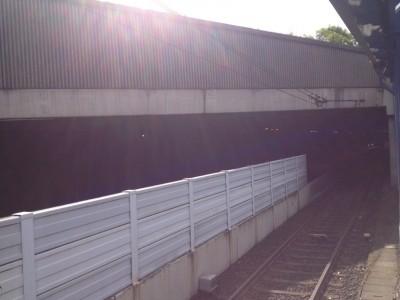 Lärmschutz Stadtbahn Linie 66 Oberdollendorf