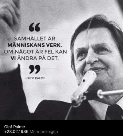 Palme Olof19860228 - Erinnerung