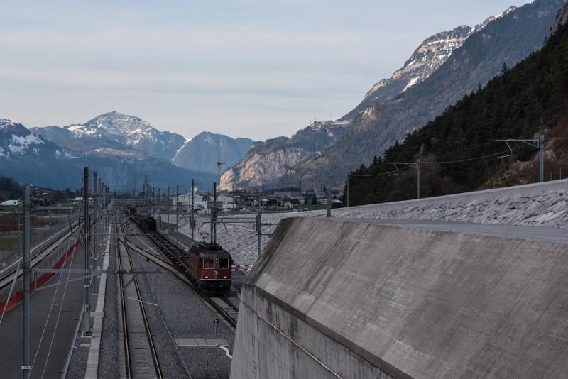 Gotthard-Basistunnel Inbetriebsetzung Nordportal160602 klein