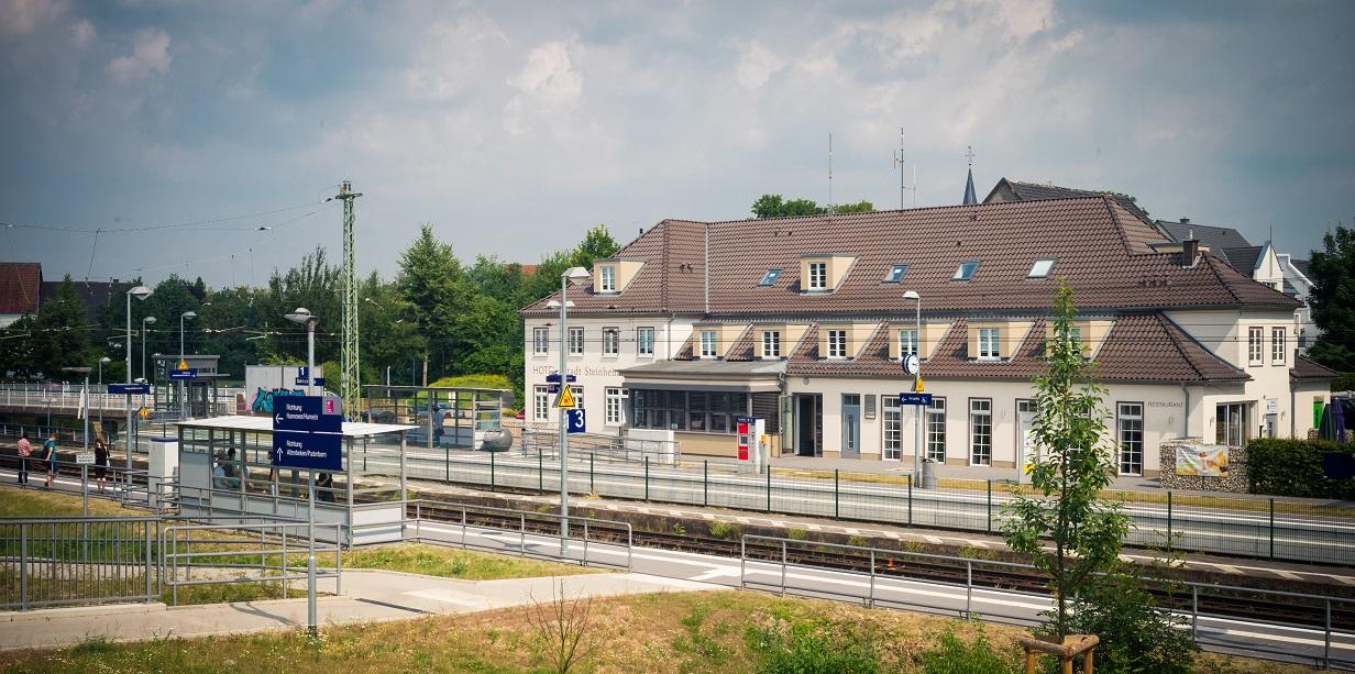 Enkelt leilighet Steinheim Westfalen