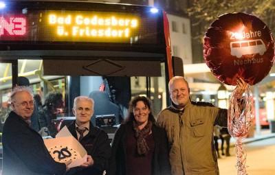 Foto v.l. Rolf Beu MdL, Marko Voynovic, Anja Wenmakers (SWB B+B), Ulrich Kelber MdB. Made by Meike Böschemeyer