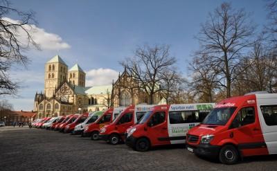 Bürgerbusse aufgereiht